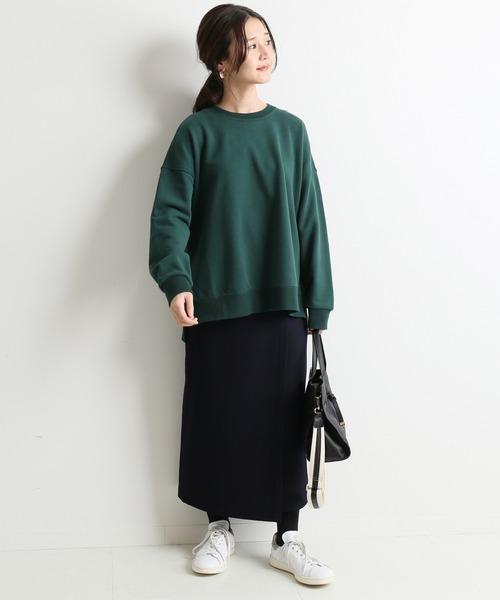 [IENA] ウォッシャブルフラノラップスカート【手洗い可能】◆