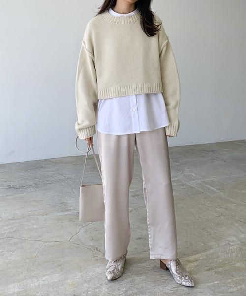 【2020秋~冬】最旬レディースファッション《パンツスタイル》4