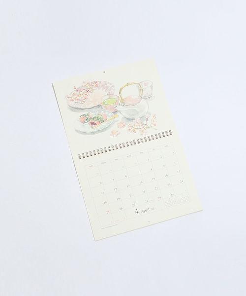 [Afternoon Tea LIVING] 水彩壁掛けカレンダー