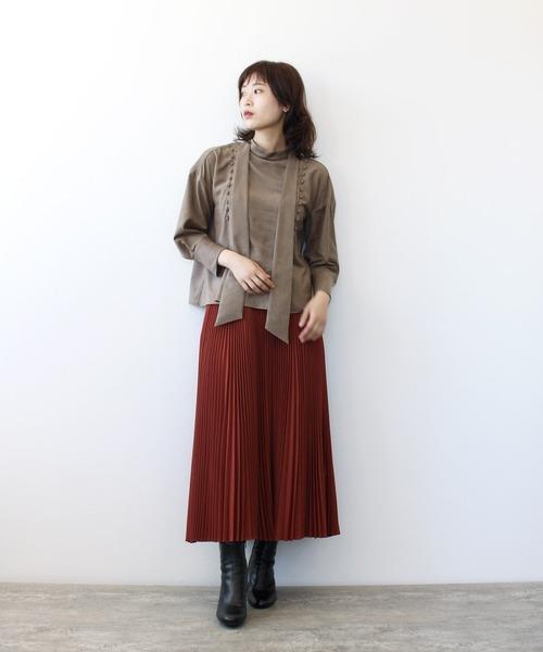 DRESSLAVE TSURU by Mariko Oikawa / Alina(カラープリーツスカート)