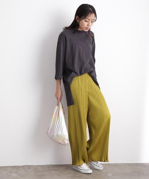 [ViS] 【8色展開】【WEB限定カラーあり】プリーツパンツ