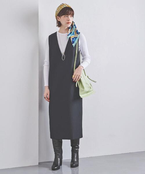 [UNITED ARROWS] UWSC W/P ジャンパースカート