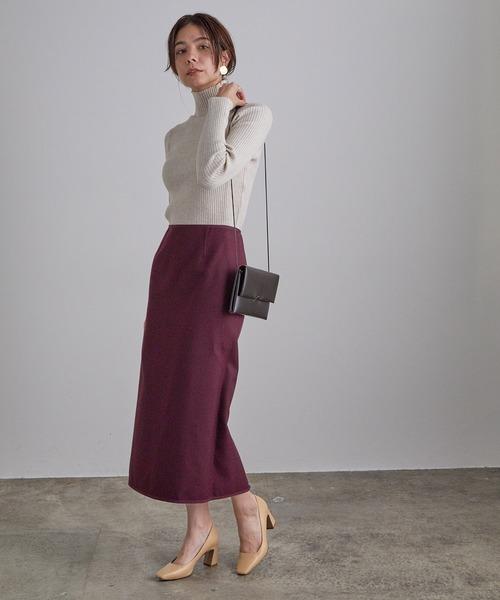 【4WAY】チェックリバーシブルタイトスカート
