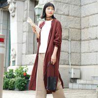 優秀シャツワンピースでつくる大人の秋コーデ15選♪羽織りアイテムとしても大活躍!