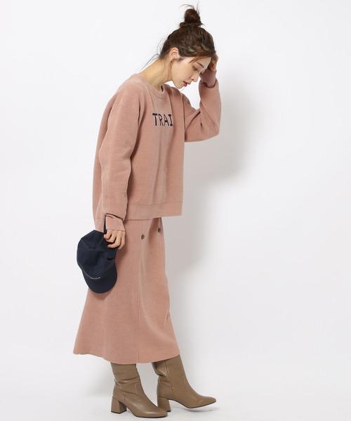 [BARNYARDSTORM] BARNYARDSTORM / フロントボタンモールスカート