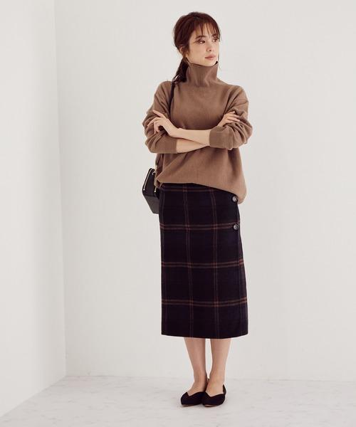 [ROPE'] 【WEB限定】【2WAY】リバーシブルタイトスカート