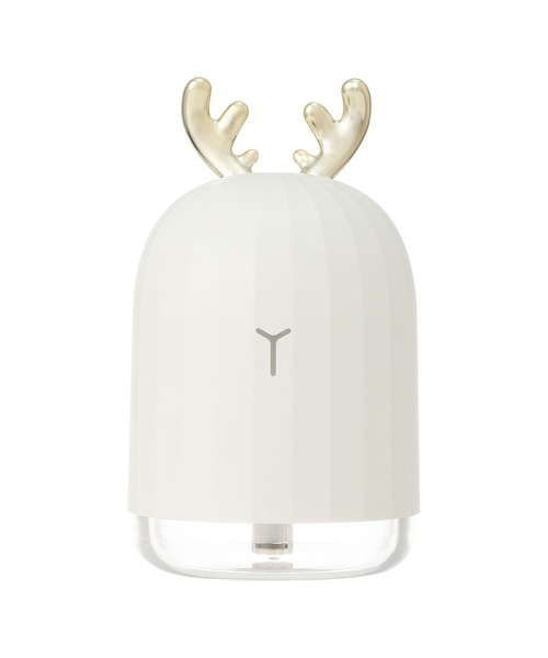 [Francfranc] ミニ USB加湿器 ディア ホワイト
