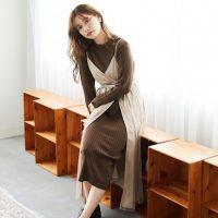 寒い季節の必需品☆【ニットワンピース】のトレンド着こなし術15選