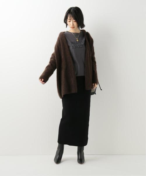 [Spick & Span] 《WEB限定》リブニットタイトスカート2◆