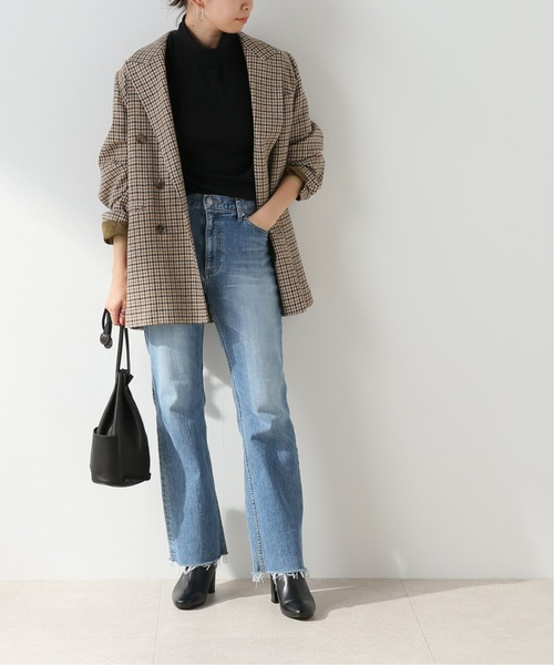 [Spick & Span] 【COUTURE DADAM】GUNCLUB CHECK OVERSIZED DOUBLE JACKET
