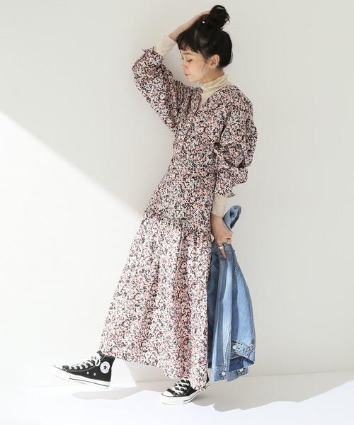[JOURNAL STANDARD] 【KLOKE/クローク】 INFLATION MAXI DRESS:ワンピース
