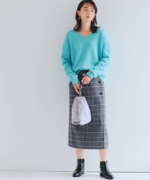 [green label relaxing] ◆FFC T/W リバーシブル ラップ スカート
