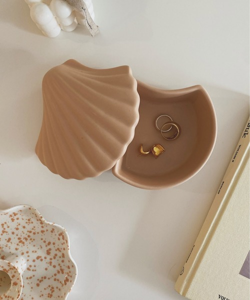 [chuclla] 【SANSeLF】shell motif Jewelry box sana5