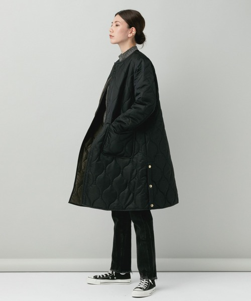 [Curensology] Curensology(カレンソロジー)/【TRADITIONAL WEATHERWEAR】キルティングロングコート2