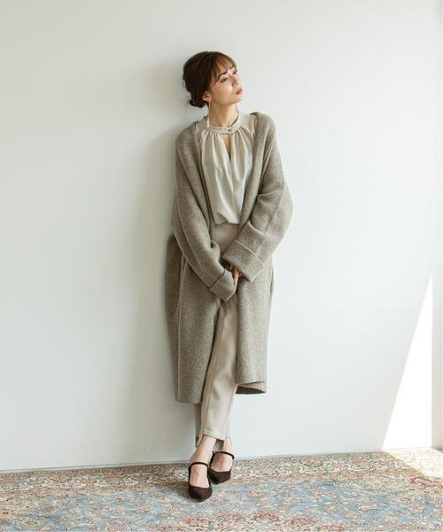 [Spick & Span] 《WEB限定》【Asami Nakamura×NOBLE】2WAYチョーカー風ネックブラウス◆
