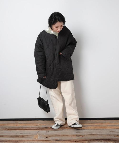 [FREAK'S STORE] FRANKLIN & MARSHALL/フランクリンマーシャル Liner quilt coat/ライナーキルティングコート
