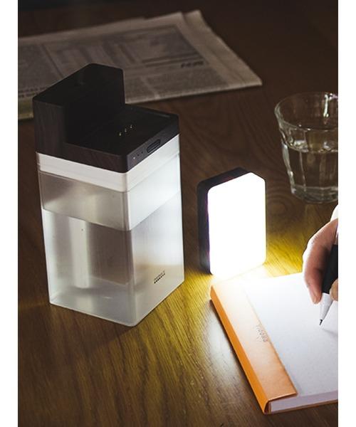 PRISMATE(プリズメイト) 充電式コードレス加湿器 LEDライト付