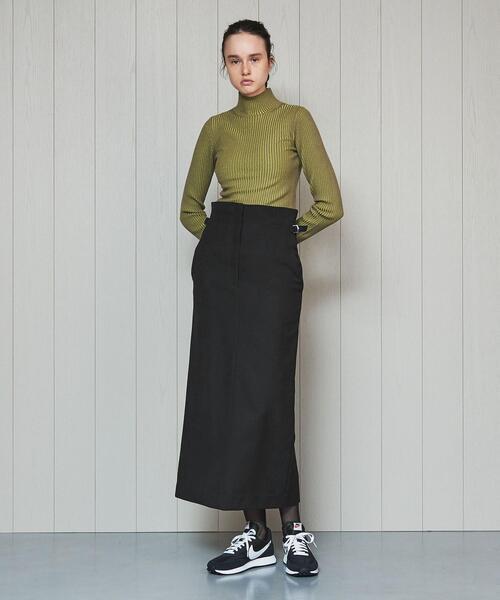 <H>TIGHT LONG SKIRT/スカート