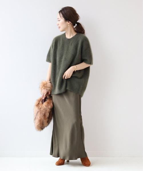 [Plage] Cuサテンスカート2◆