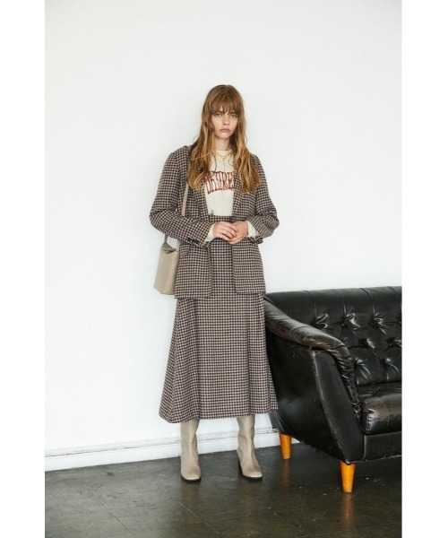 [MOUSSY] HOUNDSTOOTH ジャケット