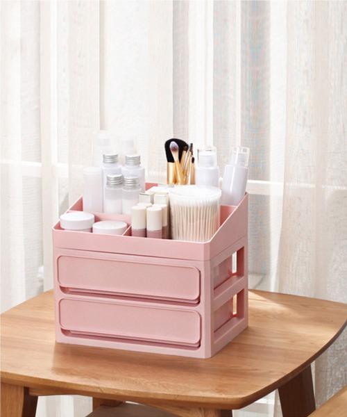 [aimoha] 化粧品 収納ボックス
