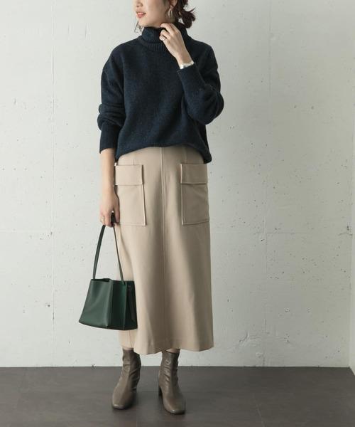 [URBAN RESEARCH ROSSO WOMEN] アウトポケットタイトスカート
