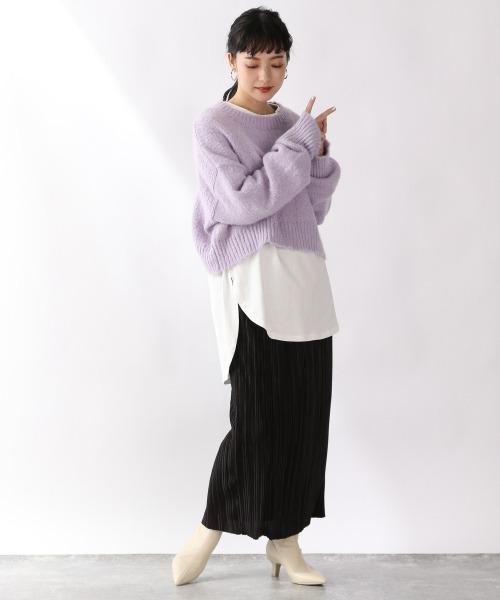 ランダムプリーツタイトスカート 920251