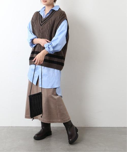 [JOURNAL STANDARD] 【Oldderby Knitwear】チルデンベスト◆
