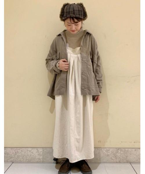 ファーフライト帽子×コーデュロイ