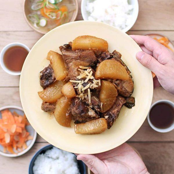 美味しい冬の和食!ブリ大根