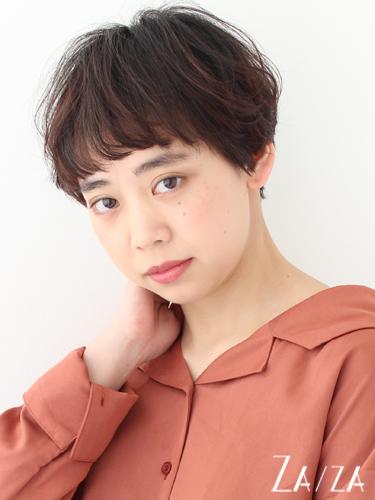 ワイドバング×ショート【パーマ】