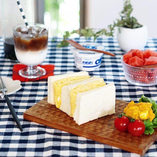 軽食の定番メニュー!サンドイッチ