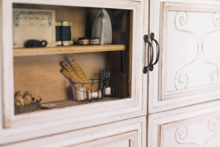 「L字型」にキッチンカウンターをDIY23