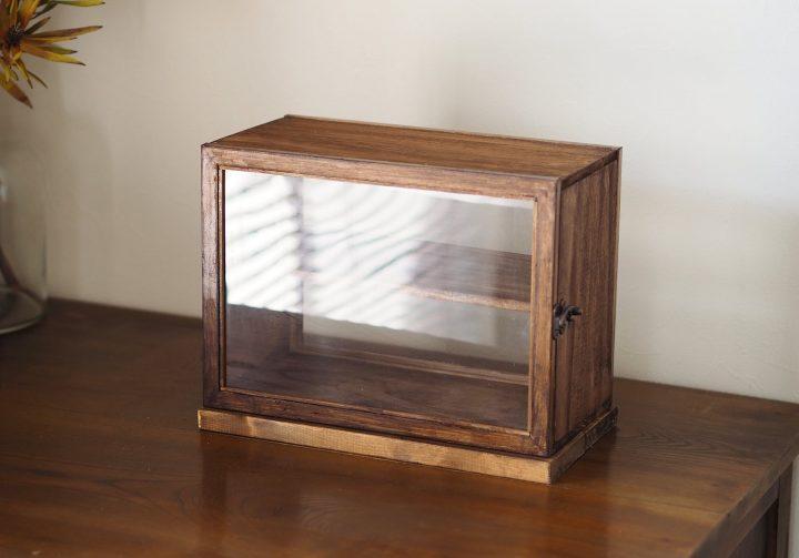 木箱ショーケース