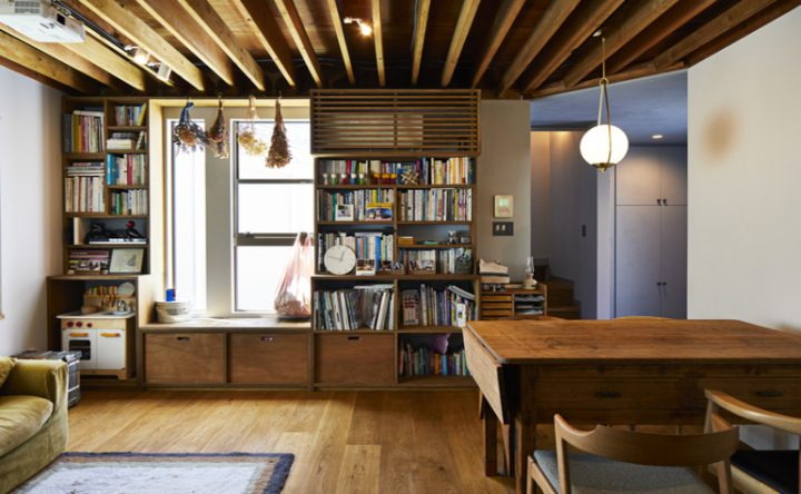 元写真スタジオ兼住居だった木造戸建をリノベして住み替え2