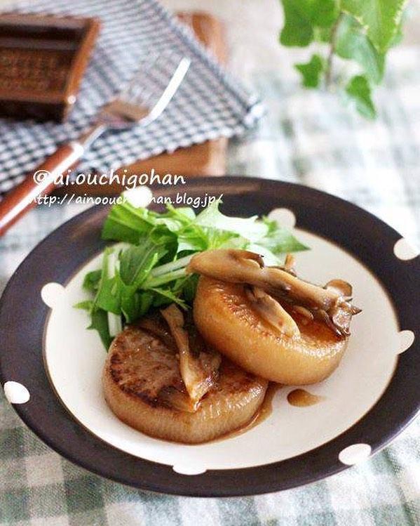 1月が旬の野菜をメイン料理に!大根ステーキ