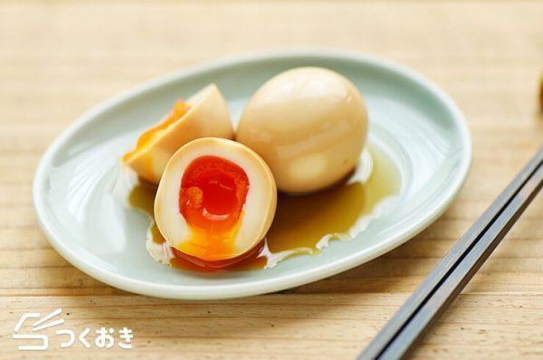 和風テイストに。常備しておきたい煮卵