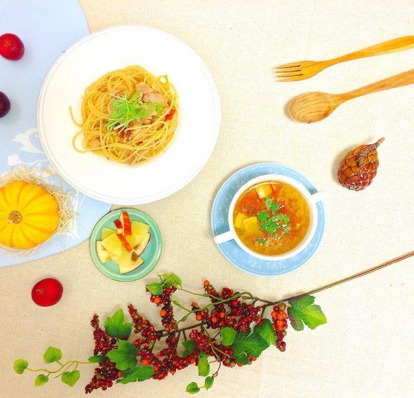 コンソメスープに合う麺料理ならパスタ