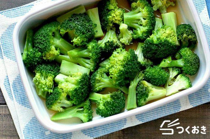 副菜に人気!ブロッコリーの焼き浸し