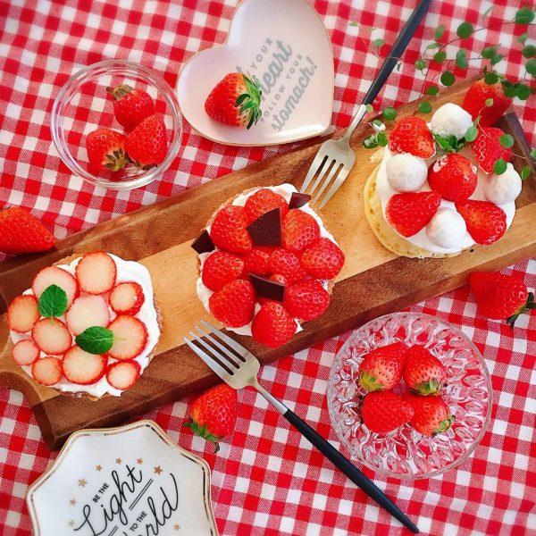 カッティングボードの盛り付けアイデア特集!デザート