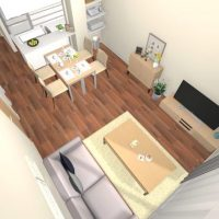 【連載】《可変性と機能性》がカギ!少ない家具で狭いリビングをフレキシブルに使う方法