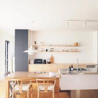 片付けも簡単で安心安全☆キッチンはシンプルにするのが正解