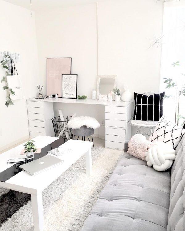 白い家具 インテリア10