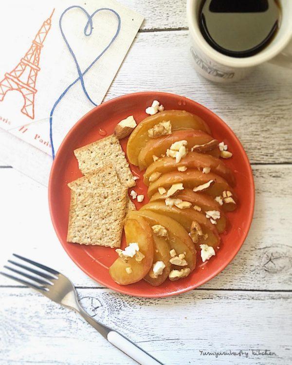 美味しい簡単スイーツレシピの焼きりんご