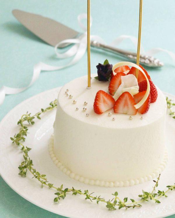 スポンジケーキの定番いちごショートケーキ