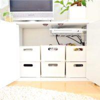 【ニトリ】のインボックスで叶うスッキリ収納!シンプルなデザインが魅力的♡