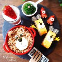 2歳児が喜ぶ朝ごはんレシピ19選!一緒に食べれる簡単メニューで時短も叶う!