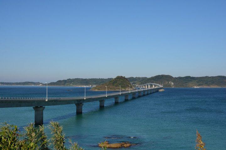 一度は行きたい日本の「角島大橋」