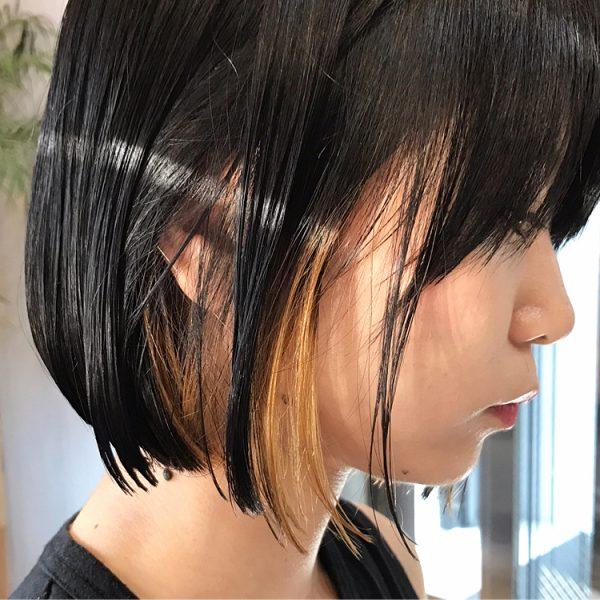 前髪ありのミニボブ2