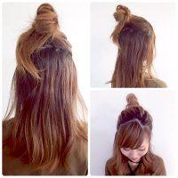 不器用さん必見の簡単ミディアムヘアアレンジ!オンオフ使えるまとめ髪スタイルに♪